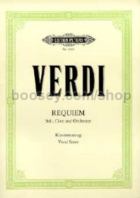 Requiem (Lat) Vocal Score (Peters Ed)