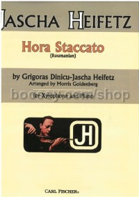 Hora Staccato for xylophone & piano