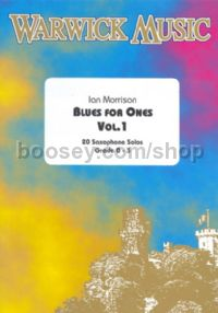 Blues For One (Alto Or Tenor Saxophone) vol. 1