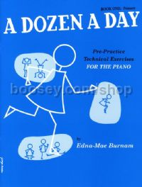 Dozen A Day Book 1 Primary