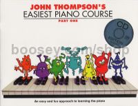 John Thompson's Easiest Piano Course Part 1 (Book & CD)