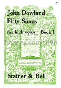 50 Songs Book 1 - High Voice'