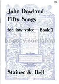 50 Songs Book 1 Low Voice
