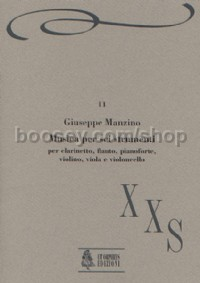 Musica per 6 strumenti for Flute, Clarinet, Piano, Violin, Viola & Cello (1987) (score & parts)