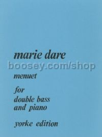 Menuet for Double Bass