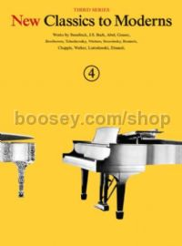 New Classics to Moderns, Book 4 - piano
