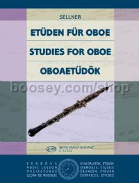 Studies for Oboe for oboe solo