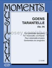 Tarantelle, op. 24 - cello & piano