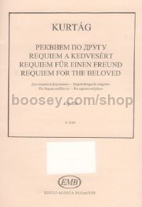 Requiem for the Beloved, op. 26 - soprano & piano