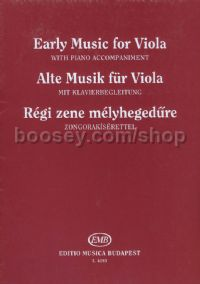 Early music for Viola - viola & piano