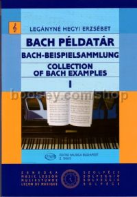 Collection of Bach Examples, Vol. 1 for voice