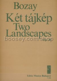 Two Landscapes - baritone, flute & zither