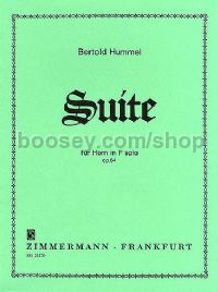Suite Op. 64 Solo for Horn In F