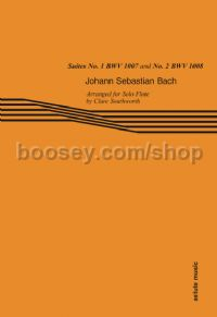 Suites No. 1 BWV 1007 and No. 2 BWV 1008 for flute solo