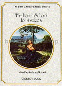 Chester Book of Motets vol.1: The Italian School For 4 Voices