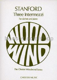Three Intermezzi for Clarinet & Piano