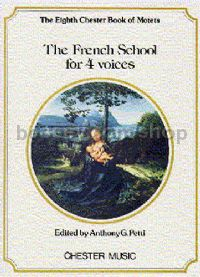 Chester Book of Motets vol.8: The French School For 4 Voices