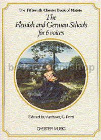 Chester Book of Motets vol.15: The Flemish & German Schools For 6 Voices
