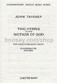 Two Hymns to the Mother of God (SATB)