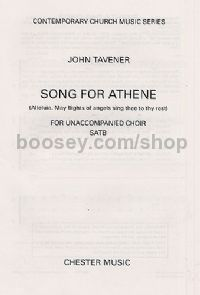 Song For Athene (Allelujah) SATB