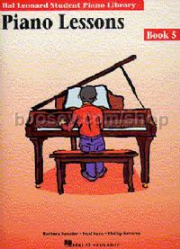 Hal Leonard Student Piano Library: Piano Lessons Book 5