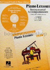 Hal Leonard Student Piano Library: Piano Lessons Instrumental Accompaniments 3 (CD)