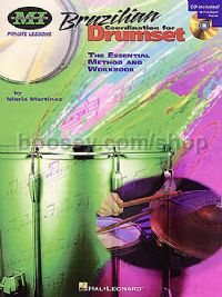 Brazilian Co-Ordination For Drumset (Book & CD)