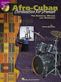 Afro-Cuban Coordination For Drumset: The Essential Method and Workbook (Book & CD)
