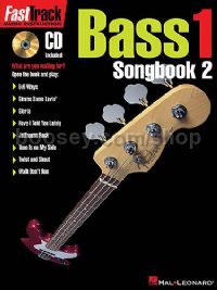 Fast Track Bass 1 Songbook 2 (Book & CD)