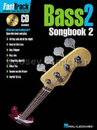 Fast Track Bass 2 Songbook 2 (Book & CD)