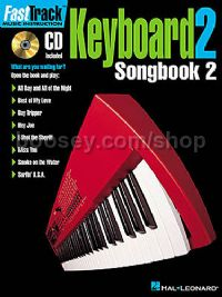 Fast Track Keyboard 2 Songbook 2 (Book & CD)
