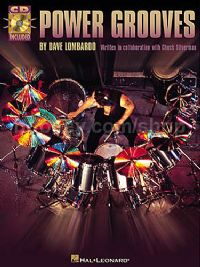 Power Grooves Lombardo (Book & CD)