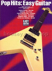 Pop Hits Easy Guitar (Guitar Tablature)