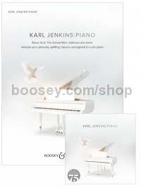 Karl Jenkins: Piano (Book & CD Bundle - Save 15%)
