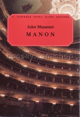 Manon in Full Score