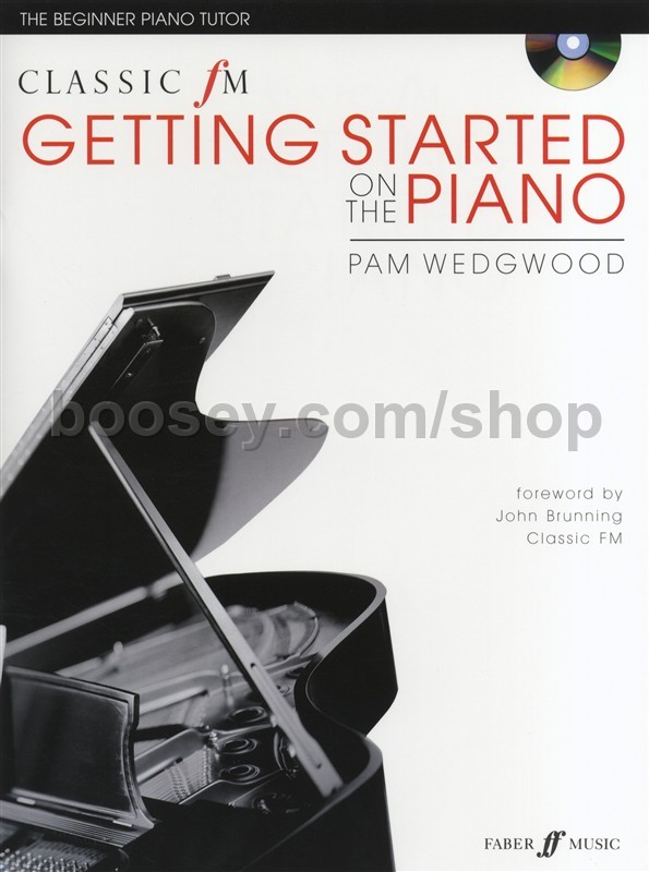 Various - Classic FM: Getting Started On The Piano (Book & CD)