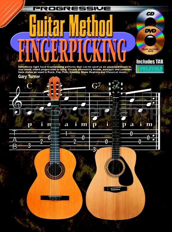 Turner, Gary - Progressive Guitar Method Fingerpicking (Book & CD