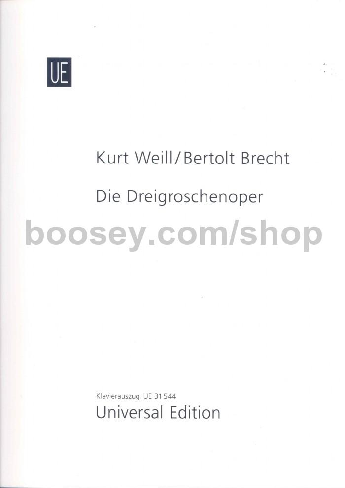 Weill, Kurt - The Threepenny Opera (Mixed Voices & Piano)