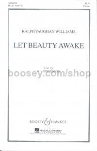 Ralph Vaughan Williams - Let Beauty Awake - choral unison