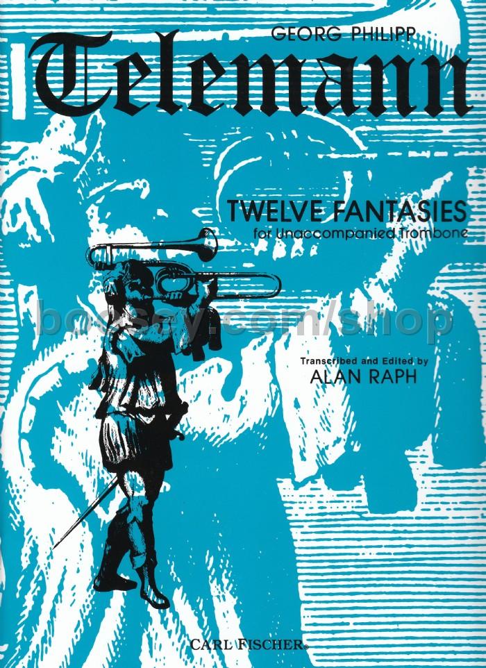 Georg Philipp Telemann - 12 Fantasies Trbn Solo 04997