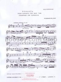 Ralph Vaughan Williams - Romanza from Concerto for Tuba