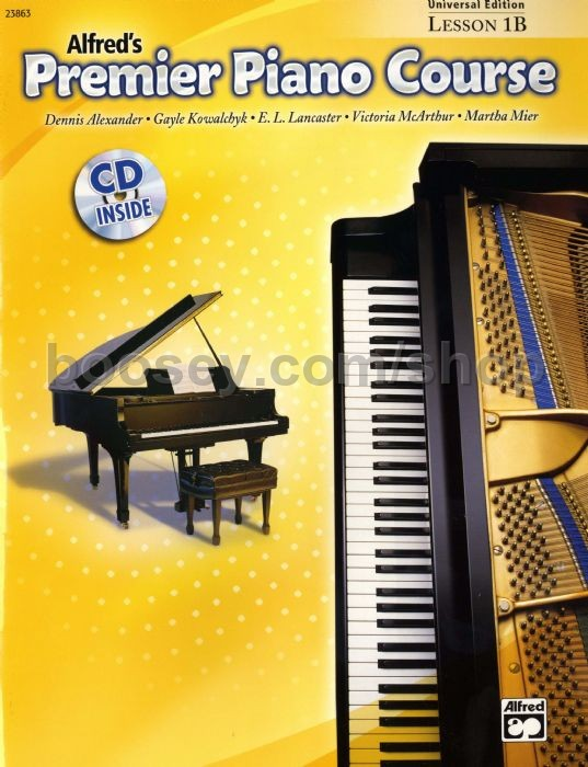 Various - Alfred Premier Piano Course Lesson Book & CD Level 1B
