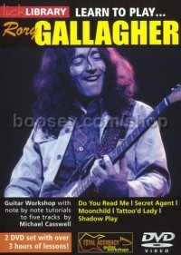 Gallagher, Rory - Learn To Play Rory Gallagher lick Library DVD