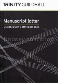 Trinity College London Manuscript Jotter 8 St 24p A6