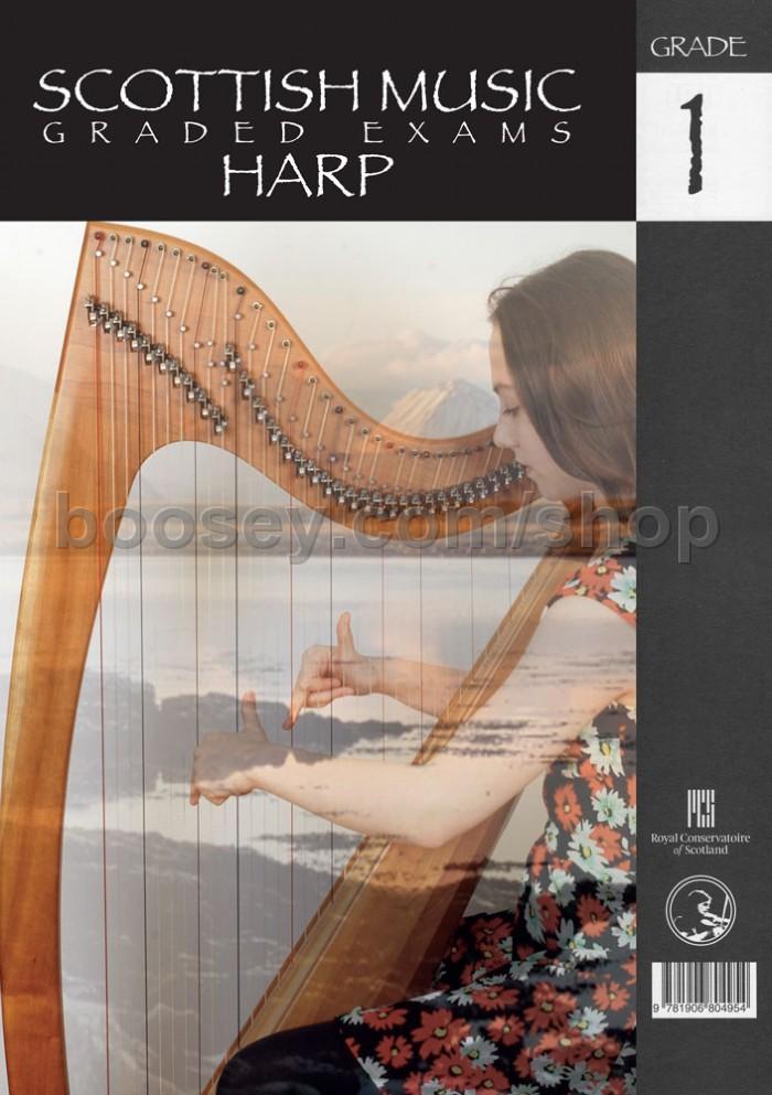 Scottish Music Graded Exams: Harp - Grade 1 (2014-2020) - RCS