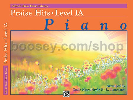 Various - Alfred's Basic Piano Course Praise Hits, Book 1A