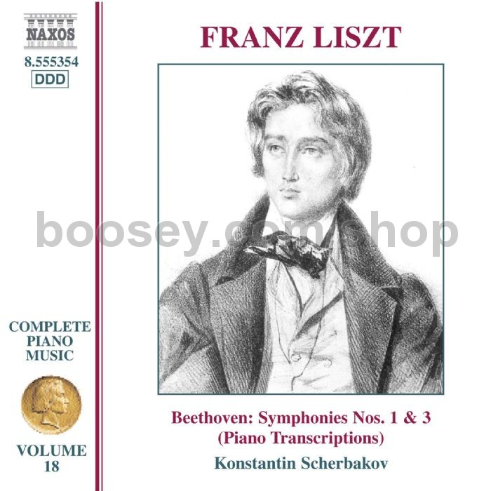 Franz Liszt - Complete Piano Music (18): Transcriptions of Beethoven