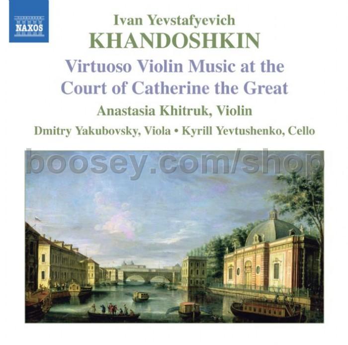 Ivan Yevstafyevich Khandoshkin - 3 Violin Sonatas, Op  3/6