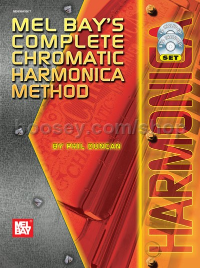 Chromatic Harmonica Book
