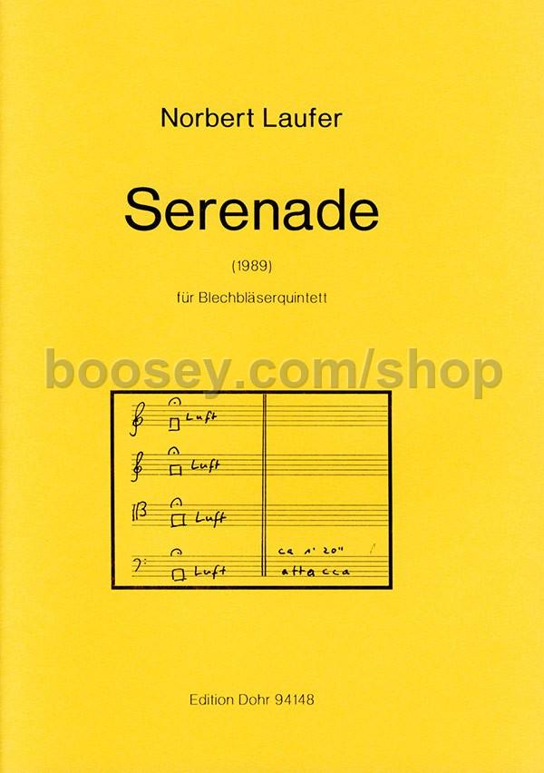 Laufer, Norbert - Serenade - 2 Trumpets, Horn, Trombone & Tuba